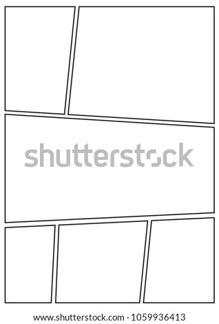 manga storyboard layout