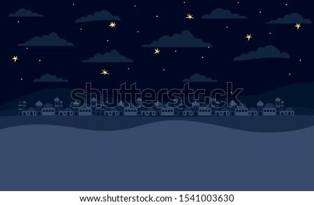 manger houses cityscape buildings landscape vector illustration design Stock photo ©