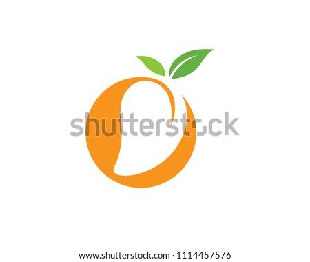mango in flat style mango