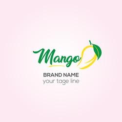 Mango Mart vector logo design, Mango shop Creative logo design