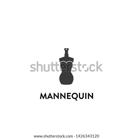 mannequin icon vector. mannequin vector graphic illustration