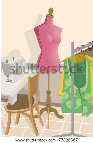 mannequin mode stile tools sewing machine