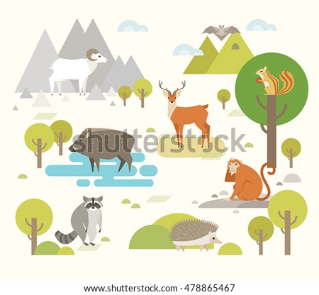 many animals that live in the