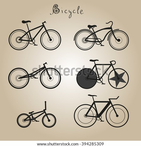 many types of bicycles