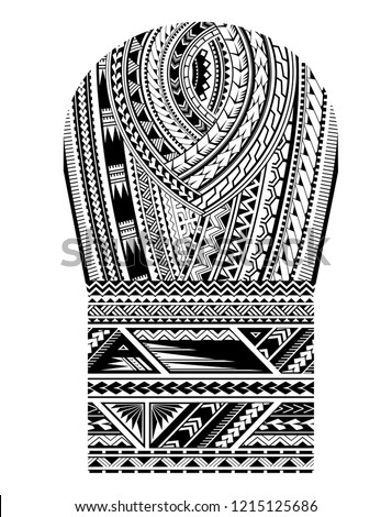 stock-vector-maori-tribal-art-pattern-good-for-shoulder-and-sleeve-area-tattoo-ornament