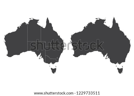 Australia Map Vector.Australia Map Vector Download Free Vector Art Stock Graphics Images