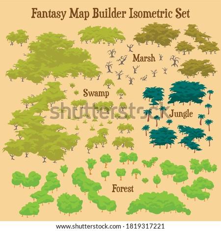 map builder illustrations for