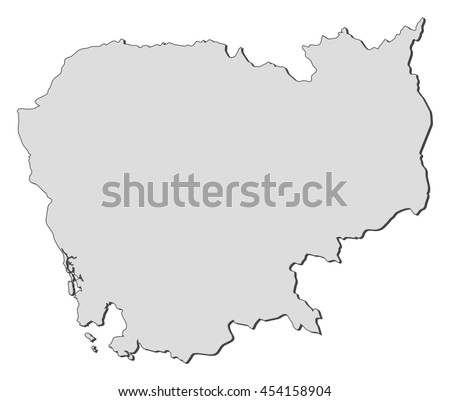 Cambodia map vector download free vector art stock graphics map cambodia gumiabroncs Image collections