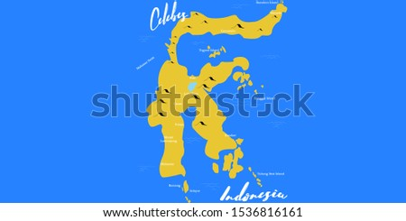 map celebes or map sulawesi