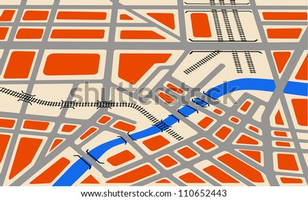 Map city