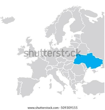 map eu vector