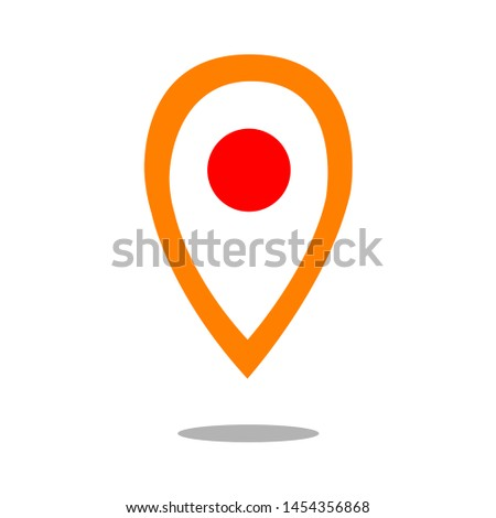 Map Marker icon. flat illustration of Map Marker. vector icon. Map Marker sign symbol