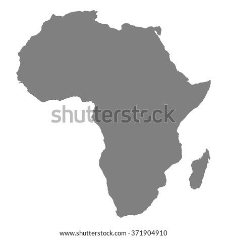 Shutterstock map of Africa