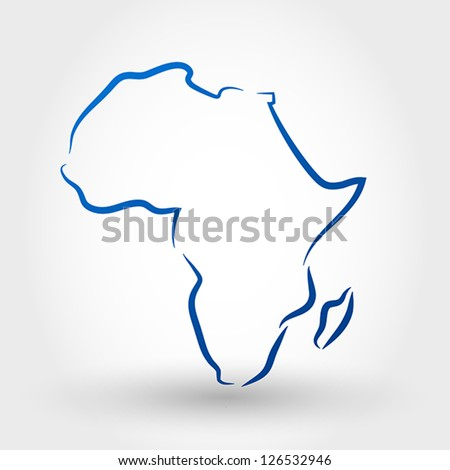 stock-vector-map-of-africa-map-concept