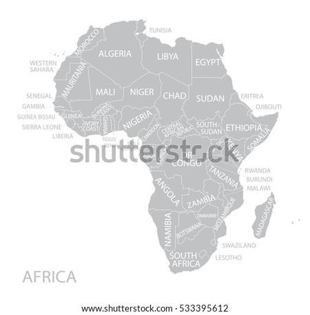 Ghana Map Vector Download Free Vector Art Stock Graphics Images - Senegal map vector