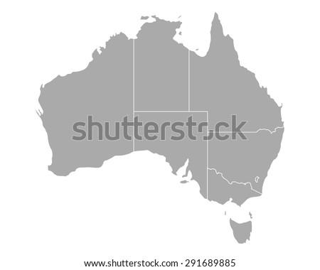 stock-vector-map-of-australia