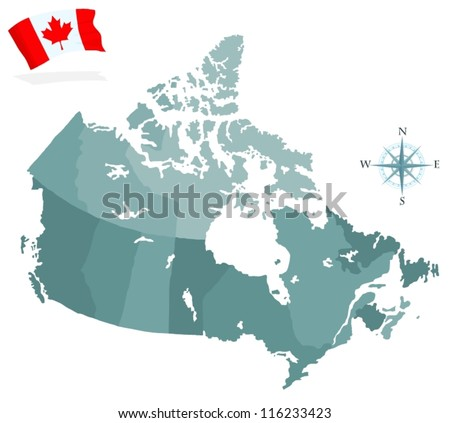 Canada Map Vector Download Free Vector Art Stock Graphics Images