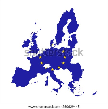 map of european union and eu