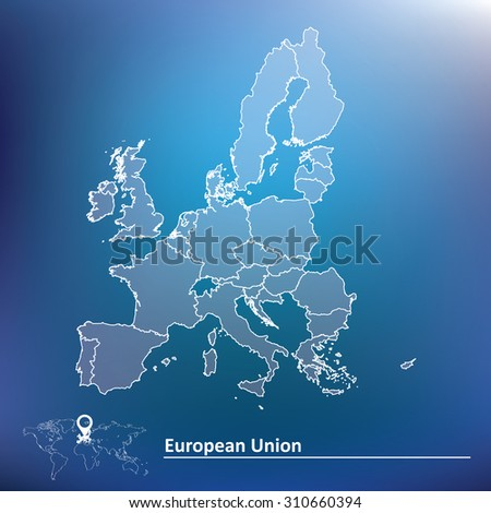 map of european union 2015