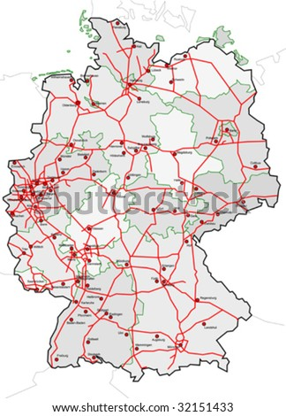 map of united kingdom cities. map of germany with cities.