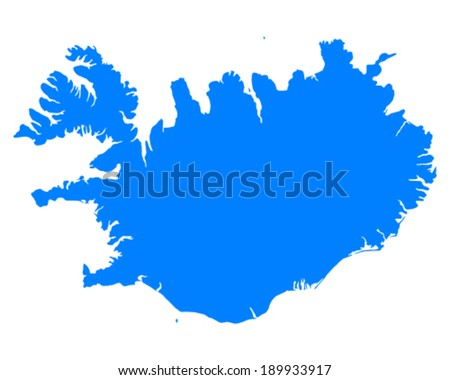 Free Iceland Map Vector - Download Free Vector Art, Stock Graphics ...