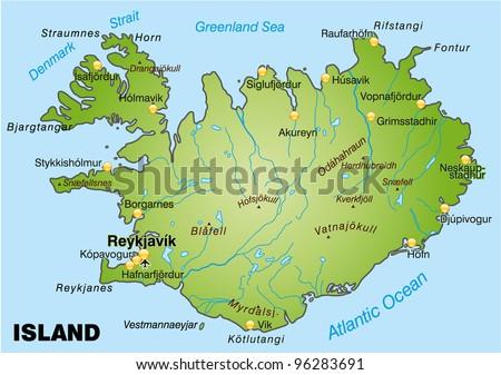 Mapa vectorial libre de islandia arte libre del vector en vecteezy map of iceland gumiabroncs Gallery