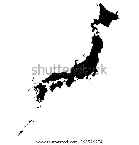 map of japan in high resolution