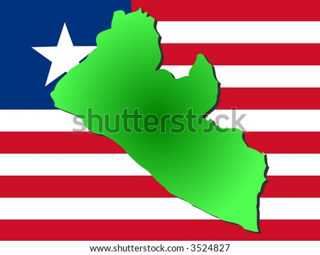 physical map of liberia. hairstyles Political Map