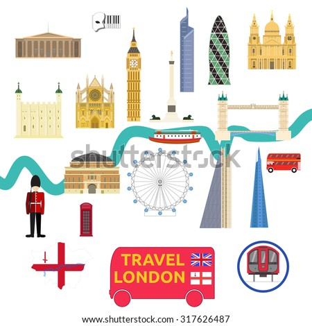 map of london attraction