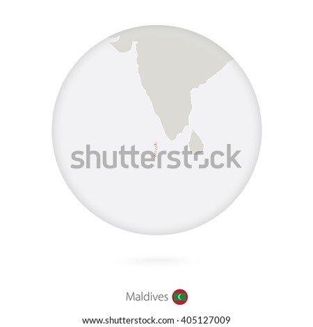 map of maldives and national