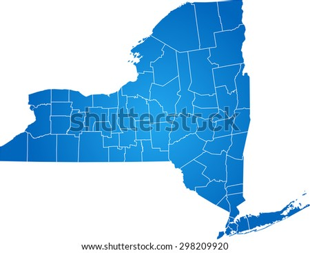 Line Art Usa Map : Free vector outlined new york map download art