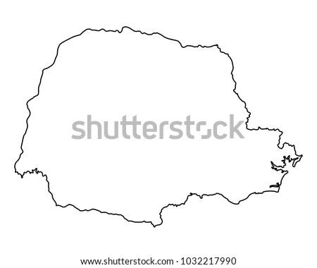 Map of Parana