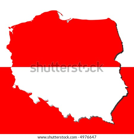 maps of poland. map of poland in english.