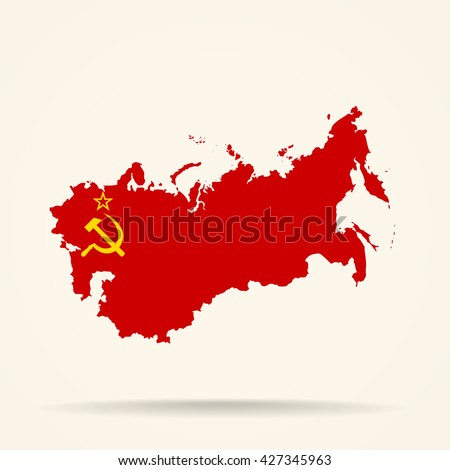 map of soviet union in soviet