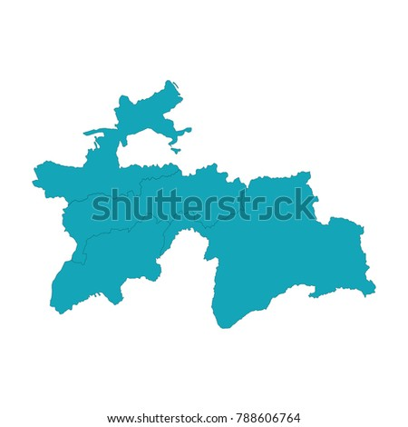 WwwMilliyRasmlaruz Ozbekona Milliy Fotobank Map Of - Tajikistan map vector