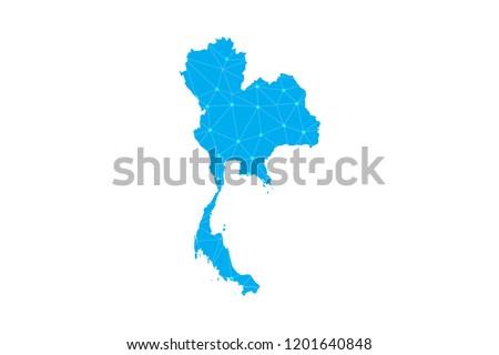 Thailand Map Free Vector Art - (45 Free Downloads)