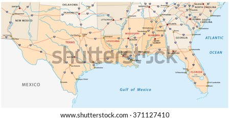 Free Texas Map Vector Download Free Vector Art Stock Graphics - Us mexico vector map