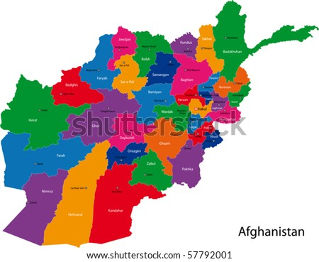 topographic maps of afghanistan. tattoo maps of afghanistan