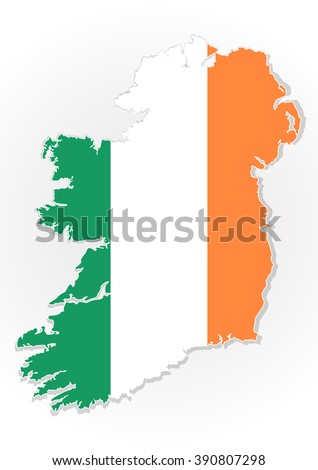 map of the republic of ireland