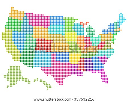 United States Map Vector Download Free Vector Art Stock - Us map eps
