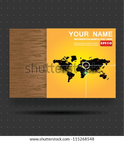 Map of the world,Banner,Vector