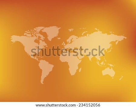 map of the world clean vector
