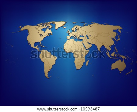 maps of the world countries. Map of the World countries