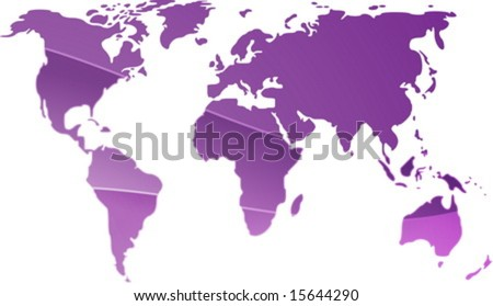 map of world outline for children. world map outline for kids.