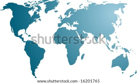 world map outline black. world map outline black