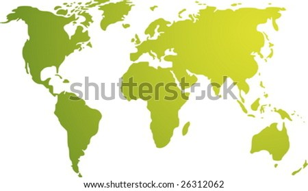 White Outline World Map Vector Download Free Vector Art Stock - Earth map outline