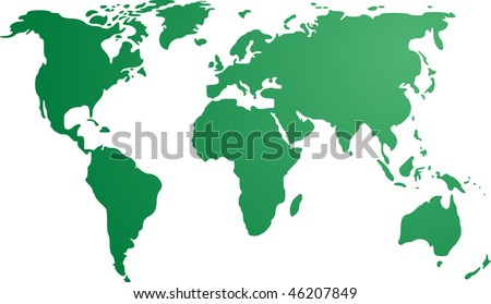 world map with countries outline. world map with countries outline. countries outline map; world