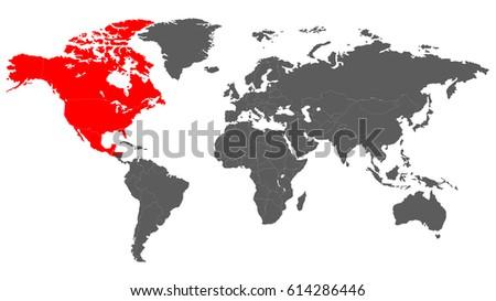 Grayscale Vector Worldmap - Download Free Vector Art, Stock Graphics ...