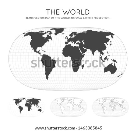 map of the world natural earth