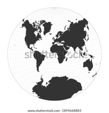 map of the world van der
